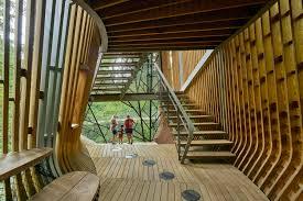 100 Tree House Studio Wood Gallery Of The Evans At Garvan Land Gardens Modus