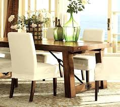 Linen Dining Chair Covers Table Seat Inside Throughout Slip For Room Chairs