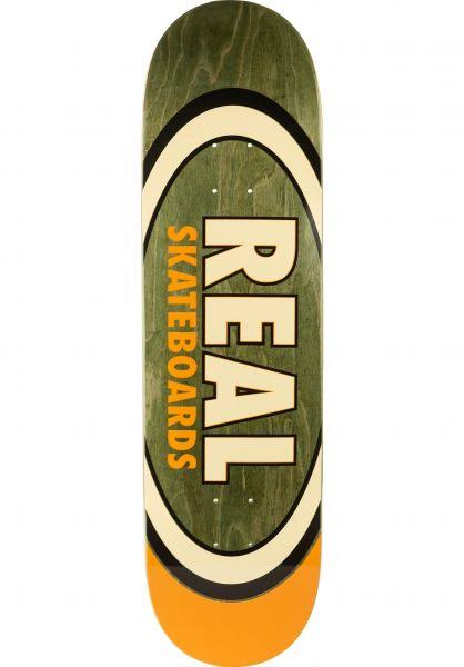 Real Team Dual Oval 8.5 Skateboard Deck - 8.5