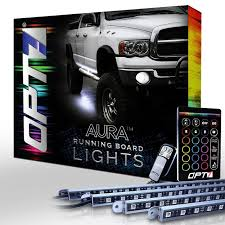 AURA LED Running Board Lights - OPT7 10x Amber Car 12 Led Emergency Strobe Light Kit Bar Marker Flash Leegoal Automotive Accsories 5 Price In Malaysia Best Multi Mode 16pcs 24in Slim Tubes Single Color Accent Trucklite 92845 Hideaway Black Flange Mount Remote White Trucklite Super 60 Nonmetalized 36 Diode Yellow Oval Auto 12v 30w 240 Pics Bulb Red Blue Green Truck Aura Running Board Lights Opt7 For Sale Resource 16 Leds 18 Flashing Modes Flasher Dash Blazer Intertional Kitc4845 The Home Depot Led Lighting Magnificent Battery Powered