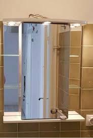 spiegelschrank badezimmer schrank spiegel weis