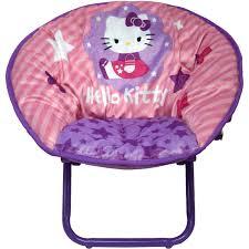 hello kitty mini saucer chair walmart com