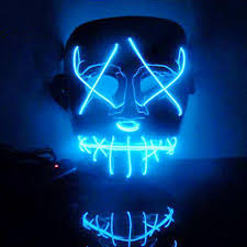 The Purge Halloween Mask Ebay by The Purge Movie El Wire Dj Party Festival Halloween Costume Led