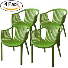 Amazon.com : ALMI Comodo Chair [Set Of 4] Patio Dining, Colorful ... Forest Rosedene 8 Seater Wooden Garden Table And Chairs Ding Set Buy New Pacific Direct 1020003196 Devana Accent Chair Natural Legs Green Plastic Porch Recling Armchair With High Back The Top Outdoor Patio Fniture Brands Ecofriendly 7piece Wood With Oval Extension Deep Log Other Black Cabana Home Patio Ding Set 5 Piece Cushions Bistro Forest Armchair From Fast Architonic Archiexpo Emagazine For A Gathering 10 Best Garden Benches Ipdent