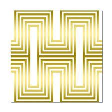 10 stück gloss metallic fliesen aufkleber wasserdichte küche badezimmer dekoration farbe gold gestreift größe 20x20cm farbe gold
