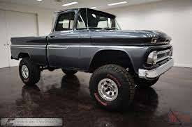 1963 Chevrolet 4x4 SWB Pickup Cool Truck Must See!