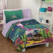 Little Mermaid Bed Set by Amazon Com Dream Big Sea Princess Ultra Soft Microfiber 2 Piece