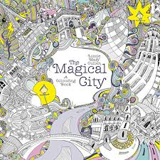 The Magical City A Colouring Book Books