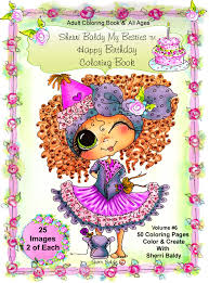Digital Download PDF Coloring Books By The Artist Sherri Baldy My Besties Birthday Book For Adults And All Ages Now Baldys