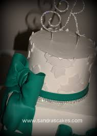 Buttercream Wedding Cake With Bling