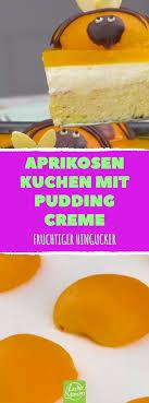 aprikosen kuchen mit puddingcreme ein kuchen rezept süßer