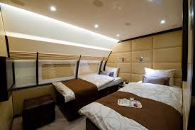 Private jet with bedroom photos and video