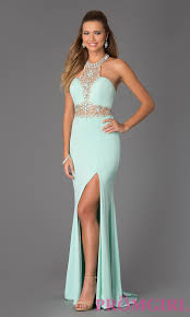 beaded halter prom gown jvn by jovani 20530 prom jovani dresses
