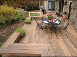 Patio And Deck Combo Ideas by Composite Decking Patio Deck Design Ideas Iron Outdoor Dining