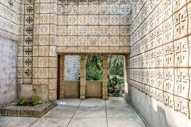 100 Millard House Ii By Frank Lloyd Wright In Pasadena CA