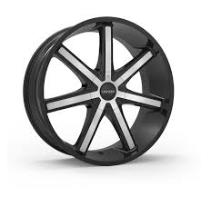 Cruiser Alloy 926MB Defiant 24x9.5 6x135 6x5.5 6x139.7 Black Machine ...