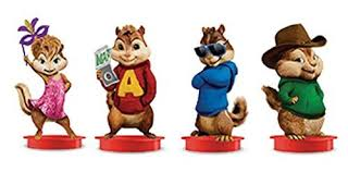 Alvin And The Chipmunks Cake Toppers by And The Chipmunks Road Chip Movie Theater Exclusive Cup Topper