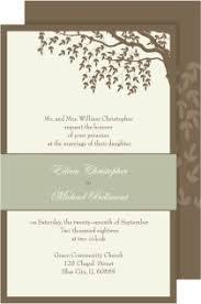 Tender Tree Rectangle Invitations