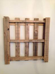 Awesome Simple Pallet Projects Easy Pallet Wall Shelf Easy Diy