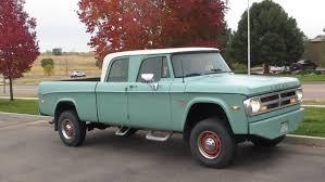 100 71 Dodge Truck 1965 Crew Cab Pickup Truck S Trucks S