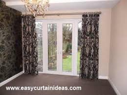 French Door Treatments Ideas by French Door Window Treatments In Amazing Home Interior Ideas P78
