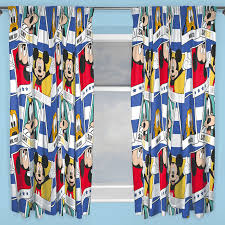 Mickey Mouse Bedroom Curtains by Kids Disney And Character Curtains 54 72 Inch Drop Childrens