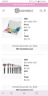 BH Cosmetics Reviews - 162 Reviews Of Bhcosmetics.com | Sitejabber Bh Cosmetics Up To 50 Off Site Wide No Code Need Some Eyeshadow Palettes Beauty Explore Online Coupon Adventures In Polishland Coupon It Cosmetics Cyber Monday When Is More Ulta Promo Codes Bareminerals 10 4020 75 Opi Bh Promo Codes 2019 Makeupviewco Coupons Elf Free Shipping Best Cheap Smart Tv Festival Sale Palette 16 Brushes 2160 Flash Up 45 Beauty Bag With 30 Avon Canada Turbo Tax Software Daisy Marquez Makeup