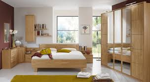 schlafzimmer erle teilmassiv mit vielen stauraummöbeln beyla