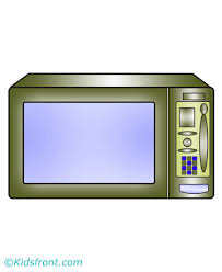 Microwave Coloring Pages For Kids To Color And Print