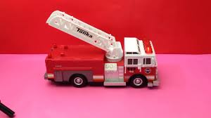 100 Pink Tonka Truck Fire Kids Toy With Lights Sounds YouTube