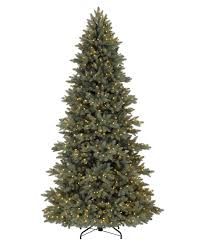 9 Ft Pre Lit Pencil Christmas Tree by Majestic Blue Spruce Christmas Tree Tree Classics