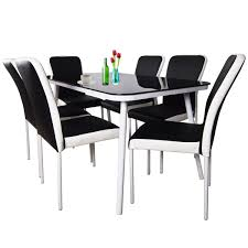 Qoo10.sg - SG No.1 Shopping Destination. Details About Set Of 5 Pcs Ding Table 4 Chairs Fniture Metal Glass Kitchen Room Breakfast 315 X 63 Rectangular Silver Indoor Outdoor 6 Stack By Flash Tarvola Black A 16 Liam 1 Tephra Alba Square Clear With Ashley 3025 60 Metalwood Hub Emsimply Bara 16m Walnut Signature Design By Besteneer With Magnificent And Ding Table Glass Overstock Alex Grey Counter Height