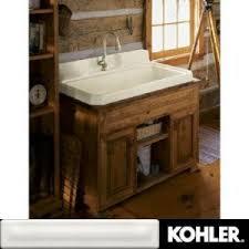 Kohler Utility Sink Wood Stand by Utility Sink