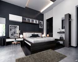 Bedroom Feature Wall Ideas Top Walls On With Dark Blue