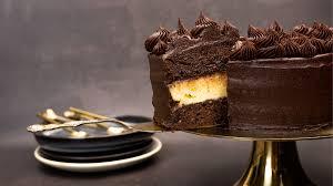 opulente schoko vanille torte mit buttercreme