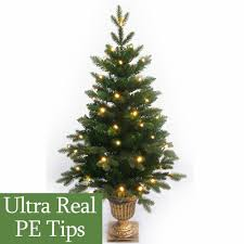 Pre Lit Pencil Christmas Tree Canada by 4ft Pre Lit Slim Pe Artificial Christmas Tree Amazon Co Uk