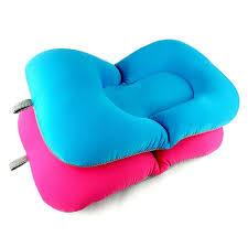 siège bébé bain 2 couleurs élastique tissu bébé de bain baignoire coussin d air
