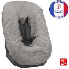 tissu pour siege auto housse de siège auto cosy bébé en tissu éponge ep5 bébé achat