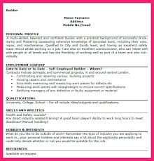 Skills And Interest Resume Sample Personal Interests On Images Unusual Examples Hobbies Builder Example