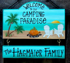 Welcome To Our Camping Paradise Sign Campsite Or Backyard With ... Canvas Backyard And Signs Pics On Remarkable Custom Outdoor Personalized Patio Goods Pool Oasis Sign Yard Beach Summer Pictures Garden Wooden Signage Pallet Plate Jimbo Le Simspon For Oldham Athletics Images Fabulous Bar Grill Proudly Serving Whatever Welcome To Our Paradise Designs Hand Painted 25 Unique Signs Ideas On Pinterest Swimming Pool Colorful Made Wood Ab Chalkdesigns Photo With Mesmerizing Rules
