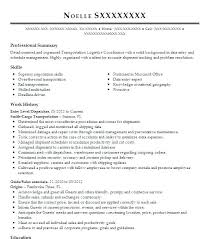 Resume Examples 911 Dispatcher Feat Cover Letter For