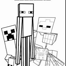 Stampy Coloring Pages Best Minecraft