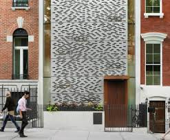 100 Townhouse Facades The Showstopping Aluminum Facade On This Midtown Hides A