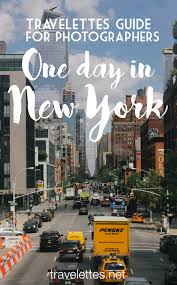 Travelettes » » Pin 1 Day New York Photographers