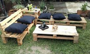 Awesome Pallet Garden Furniture Patio Instructions