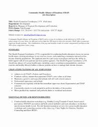 Resume For Case Manager With No Experience Luxury Templates Lvn Sample New Grad