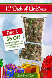Realtree Xtra Green (R) Camo Rocking Chair Cushions - Latex Foam ... Lancy Bird House Rocking Chair Cushion Set Latex Foam Fill Multi Fniture Add Comfort And Style To Your Favorite With Pin By Barnett Products Whosale On Country Traditional Home Check Out Greendale Fashions Hyatt Jumbo Shopyourway How To Send A Gift Card At Barnetthedercom Outdoor Cushions Ideas Town Of Indian Competitors Revenue And Employees Owler Company Pads Budapesightseeingorg Floral Unique Clearance 1103design Ticking Stripe Natural Child Made In Usa Machine Washable