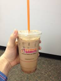 Pumpkin Iced Coffee Dunkin Donuts by Latte Flavors Dunkin Donuts