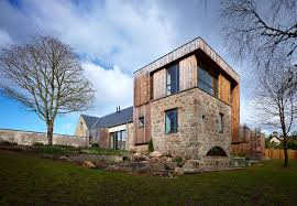 100 Rural Design Homes Scottish Country House Incorporates Ruins Of A Former Mill