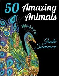 Amazon 50 Amazing Animals An Adult Coloring Book With Animal Mandala Designs And Stress Relieving Patterns For Anger Release Relaxation